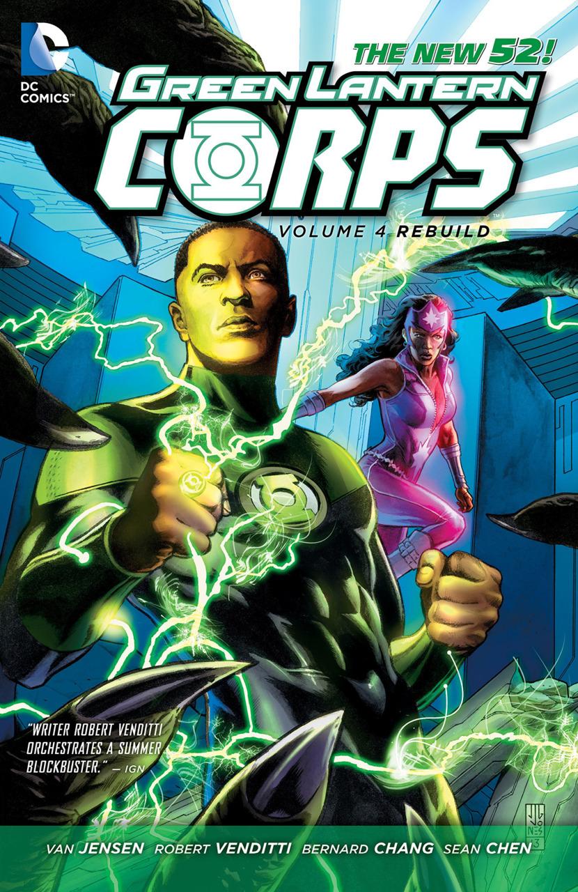 Green Lantern Corps Vol. 4: Rebuild TP