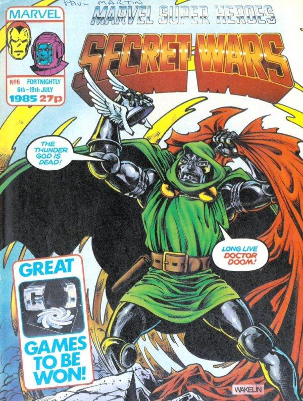 Marvel Super Heroes Secret Wars #6
