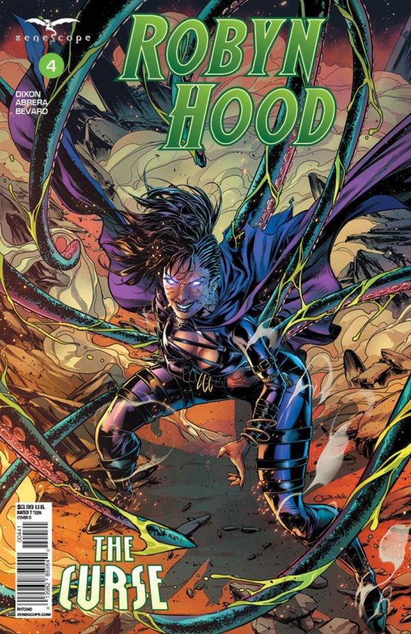 Robyn Hood: The Curse #4