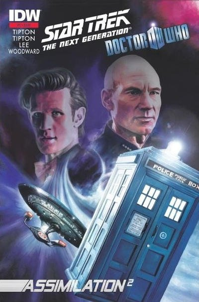 Star Trek: The Next Generation / Doctor Who - Assimilation2 #1