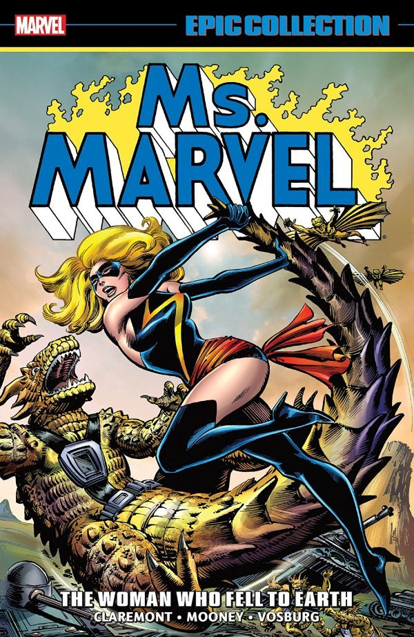 Ms. Marvel Epic Collection: The Woman Who Fell to Earth TP