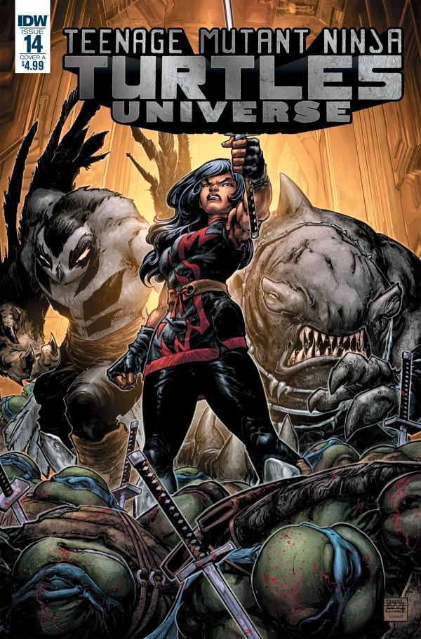 Teenage Mutant Ninja Turtles: Universe #15