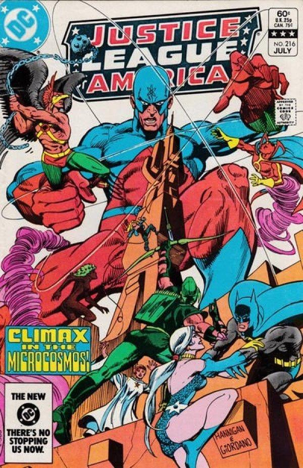 Justice League of America #216