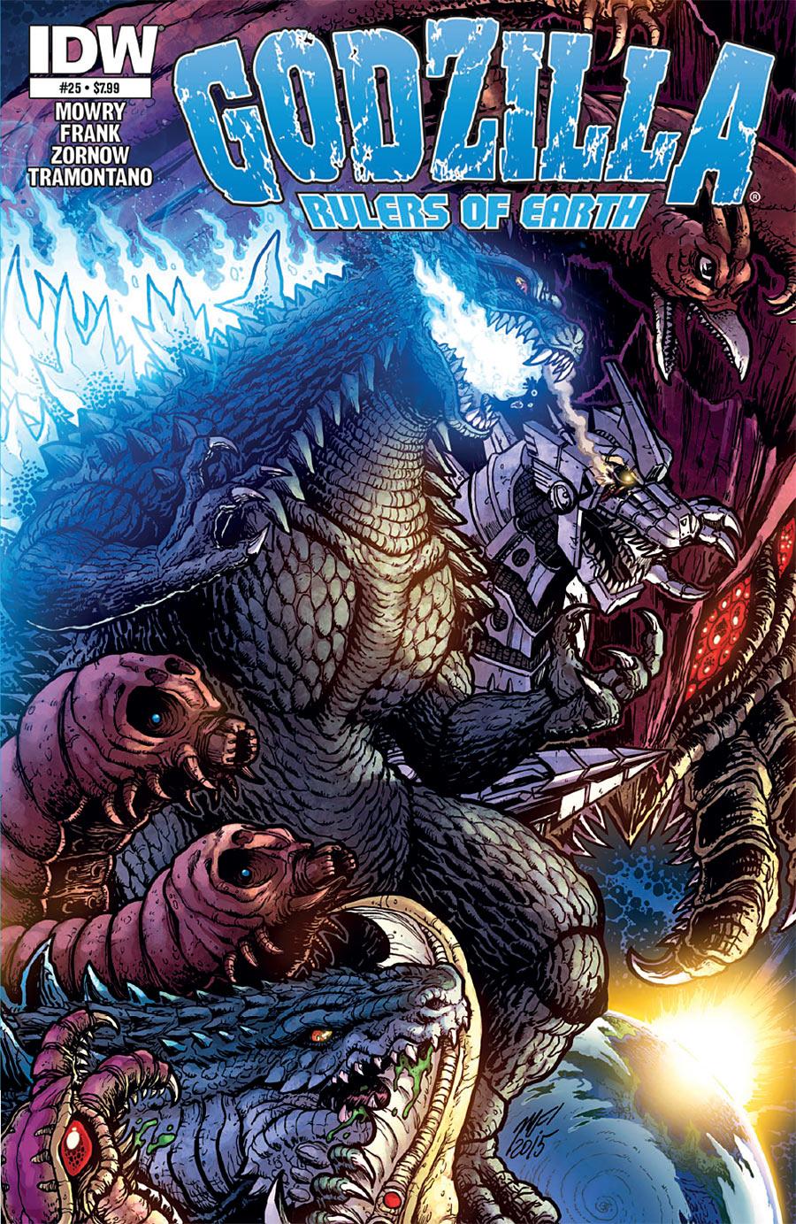 Godzilla: Rulers of Earth #25