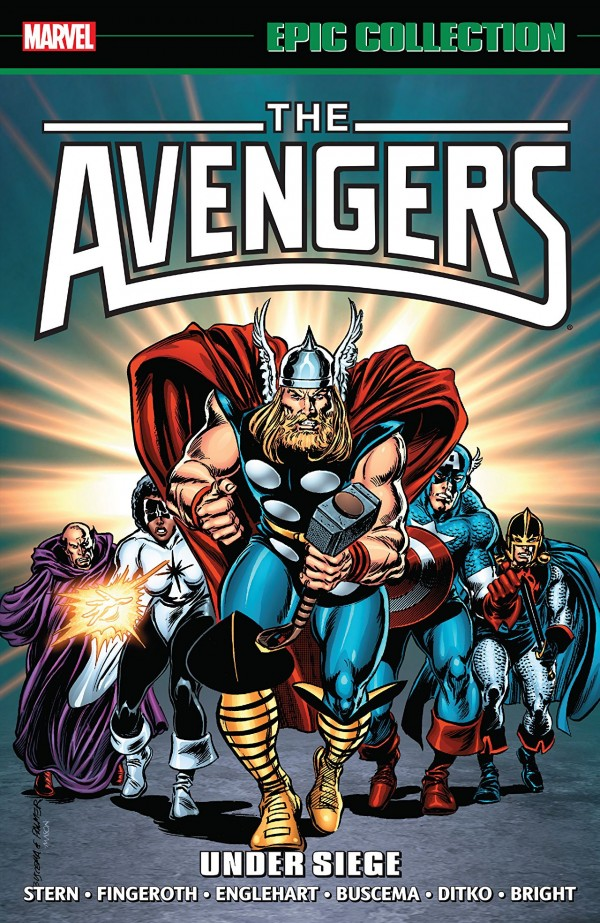 The Avengers Epic Collection: Under Siege TP