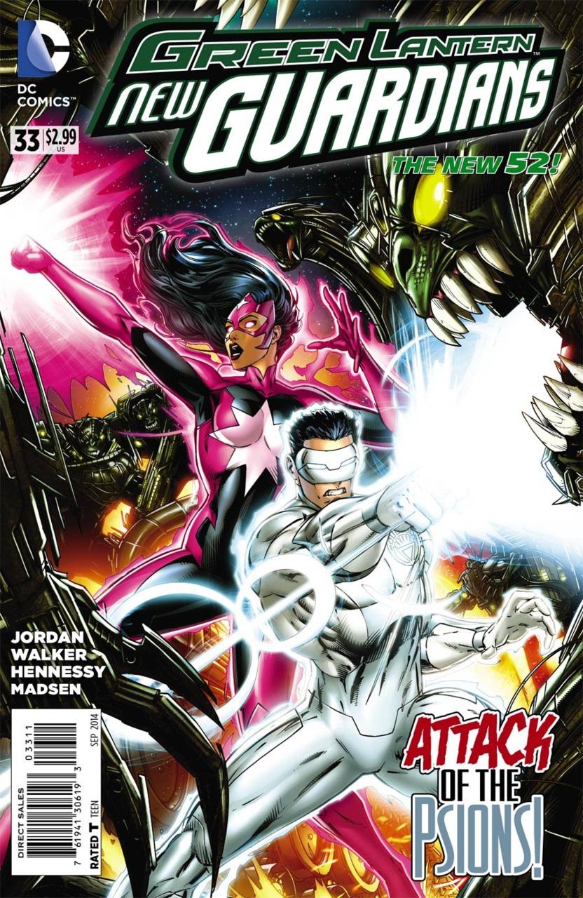 Green Lantern: New Guardians #33