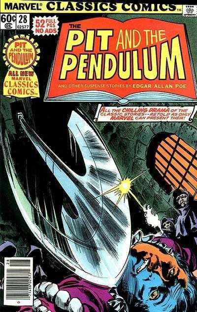 Marvel Classics Comics #28 Pit and the Pendulum