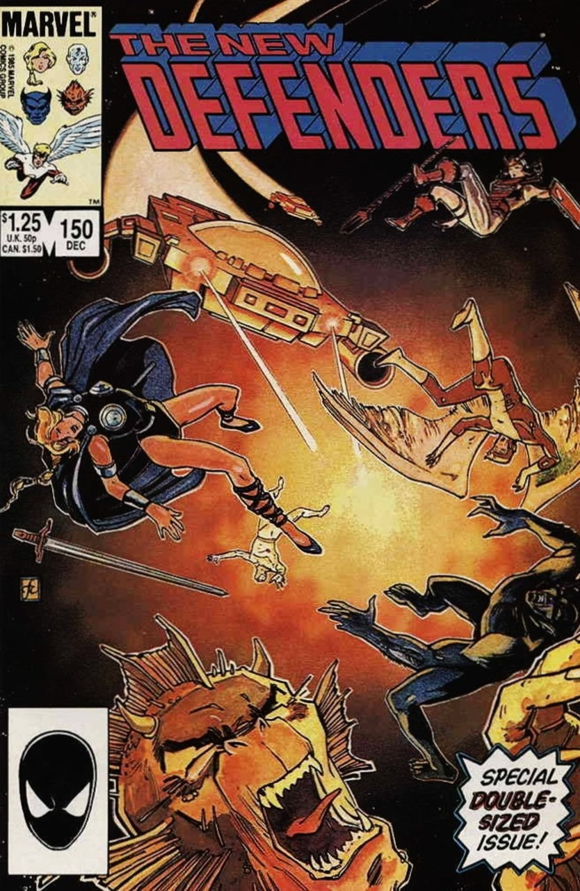 The New Defenders #150