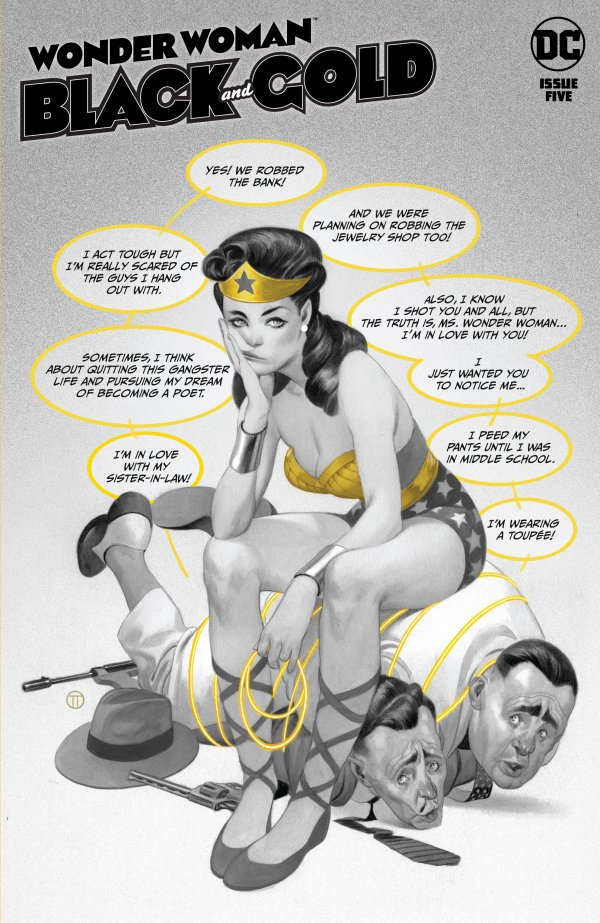 Wonder Woman: Black and Gold #5
