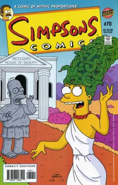 Simpsons Comics #70