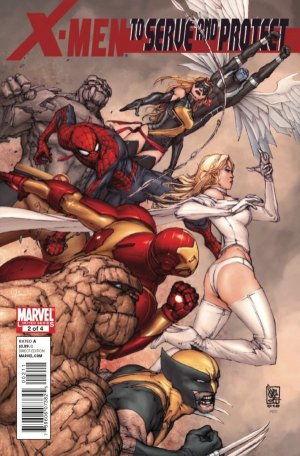 X-Men: To Serve and Protect #2