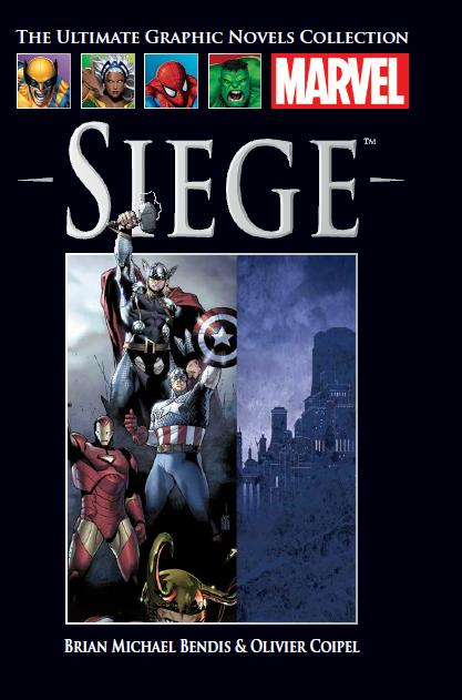The Ultimate Graphic Novels Collection Siege HC