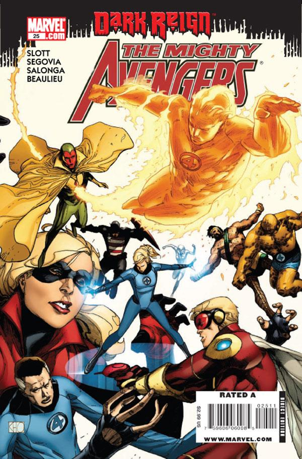The Mighty Avengers #25