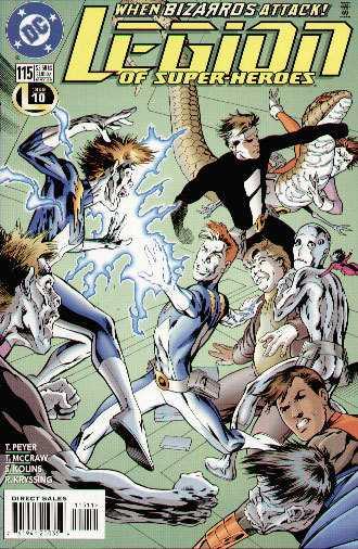 Legion of Super-Heroes #115