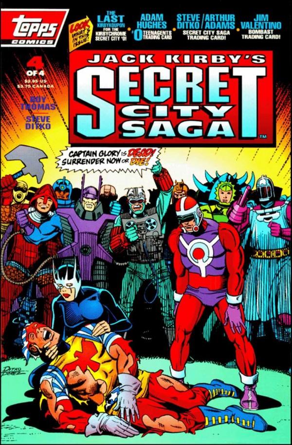 Secret City Saga #4