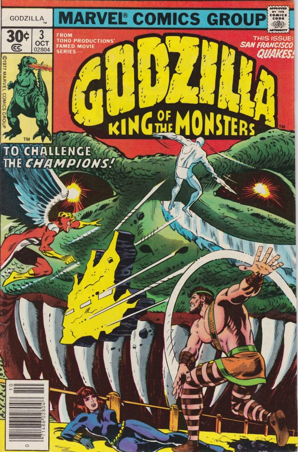 Godzilla: King of the Monsters #3