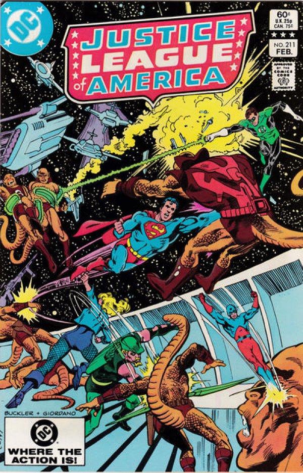 Justice League of America #211