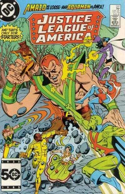 Justice League of America #241