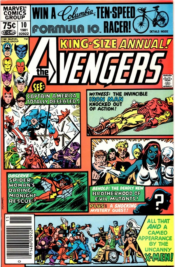 The Avengers Annual #10