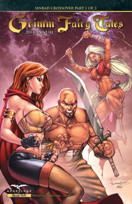 Grimm Fairy Tales Annual 2011