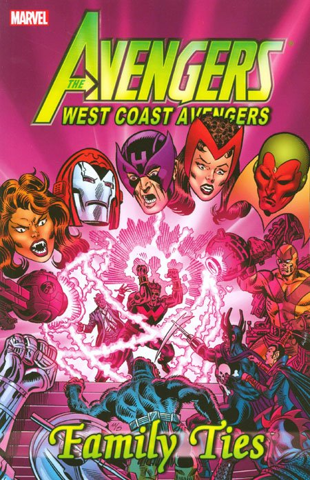 Avengers West Coast Avengers: Family Ties TP