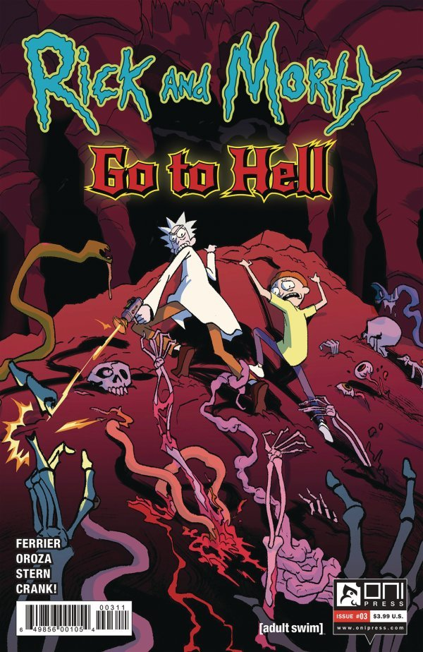 Rick And Morty: Go To Hell #3