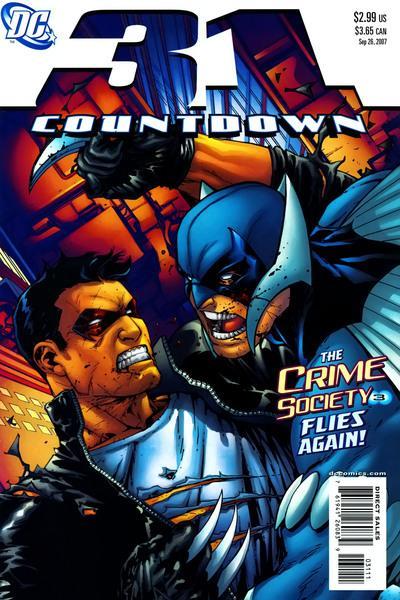 Countdown to Final Crisis #31