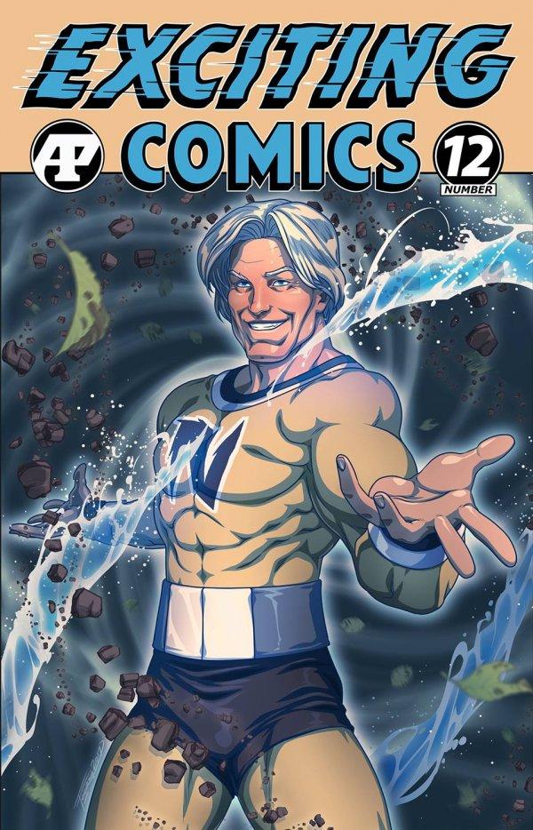 Exciting Comics #12