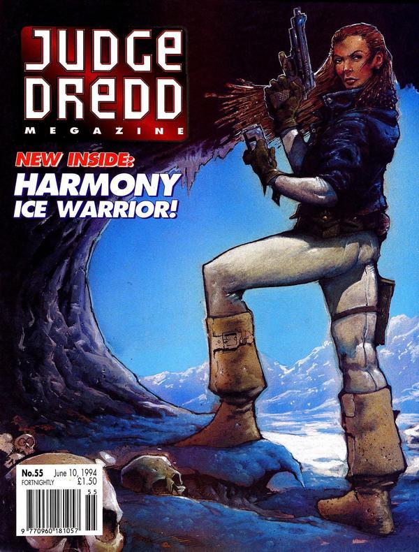 Judge Dredd: The Megazine #55