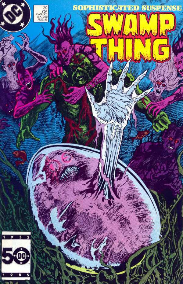 The Saga of the Swamp Thing #39
