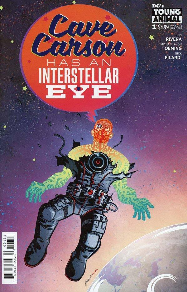 Cave Carson Has An Interstellar Eye #1