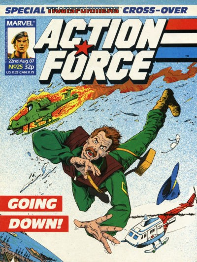 Action Force #25