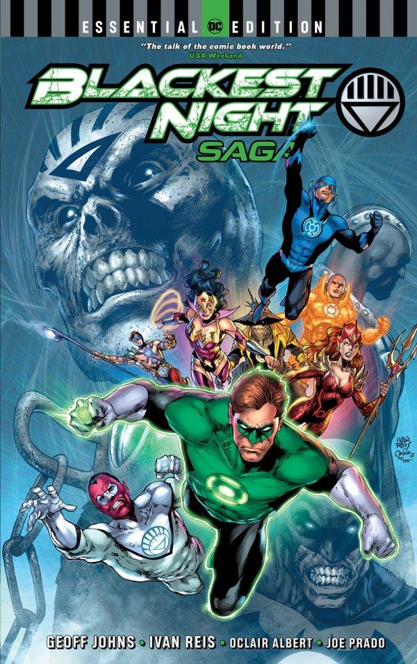 Blackest Night Saga DC Essential Edition