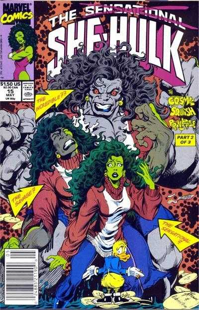 The Sensational She-Hulk #15