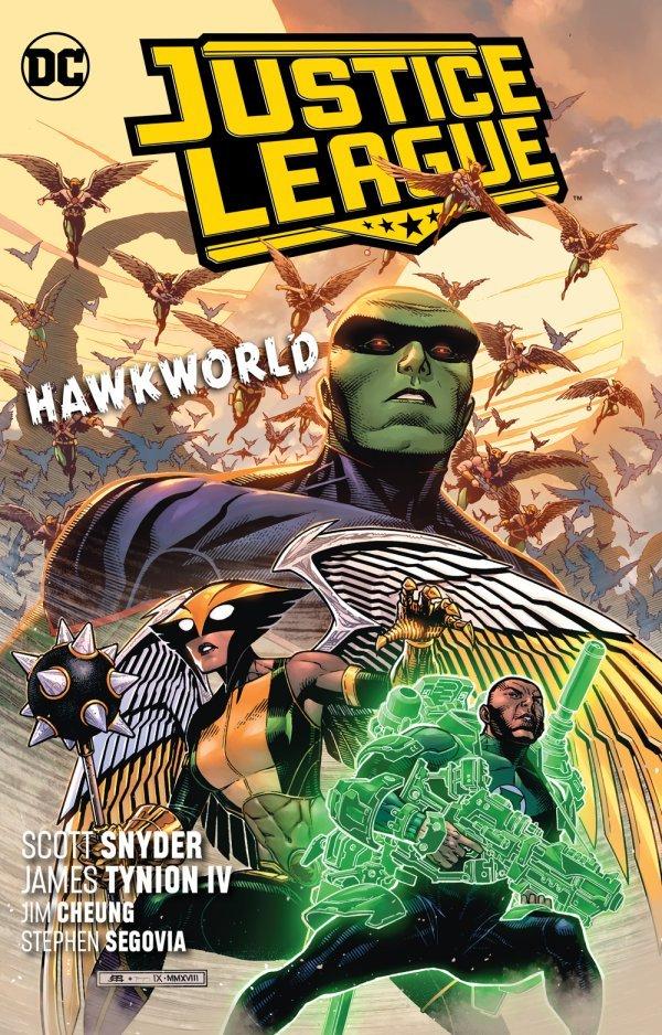 Justice League Vol. 3: Hawkworld TP