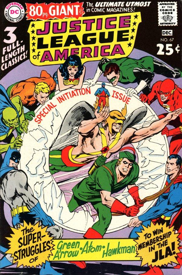 Justice League of America #67