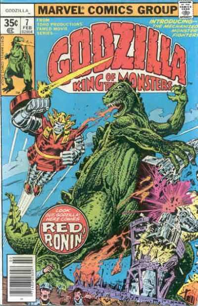 Godzilla: King of the Monsters #7