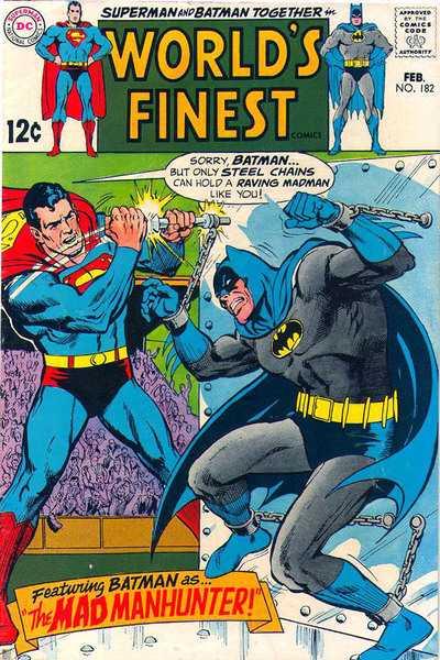 World's Finest Comics #182