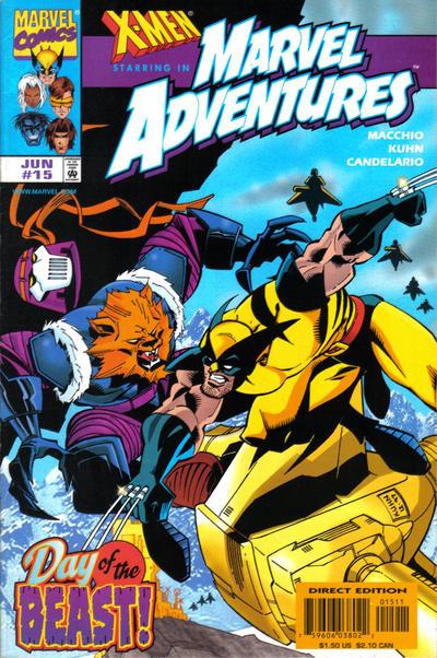 Marvel Adventures #15