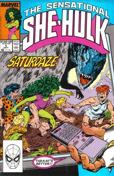 The Sensational She-Hulk #5