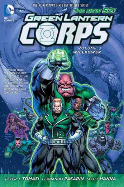 Green Lantern Corps Vol. 3: Willpower HC