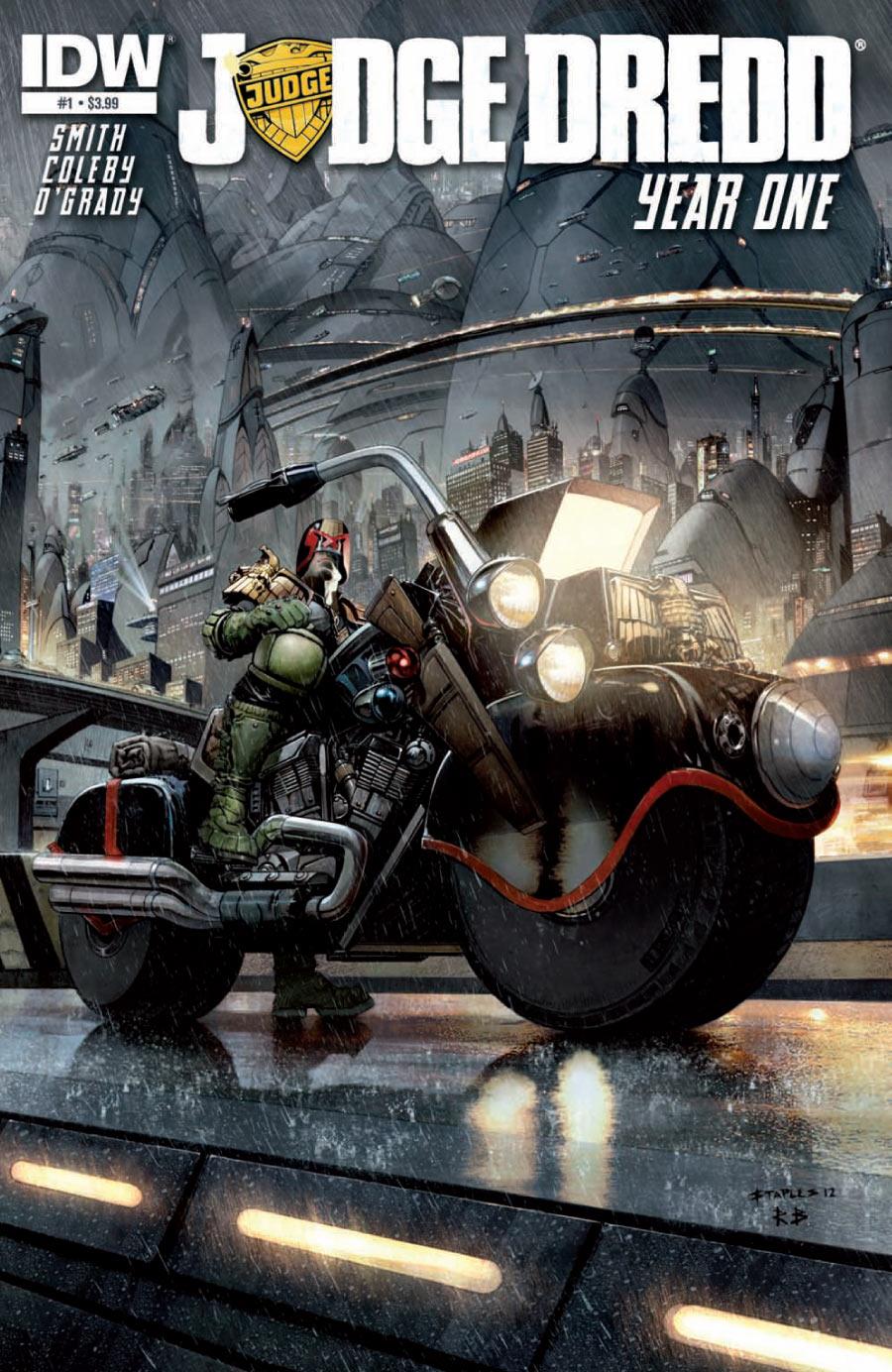 Judge Dredd: Year One #1