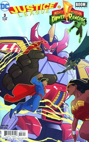 Justice League / Power Rangers #3