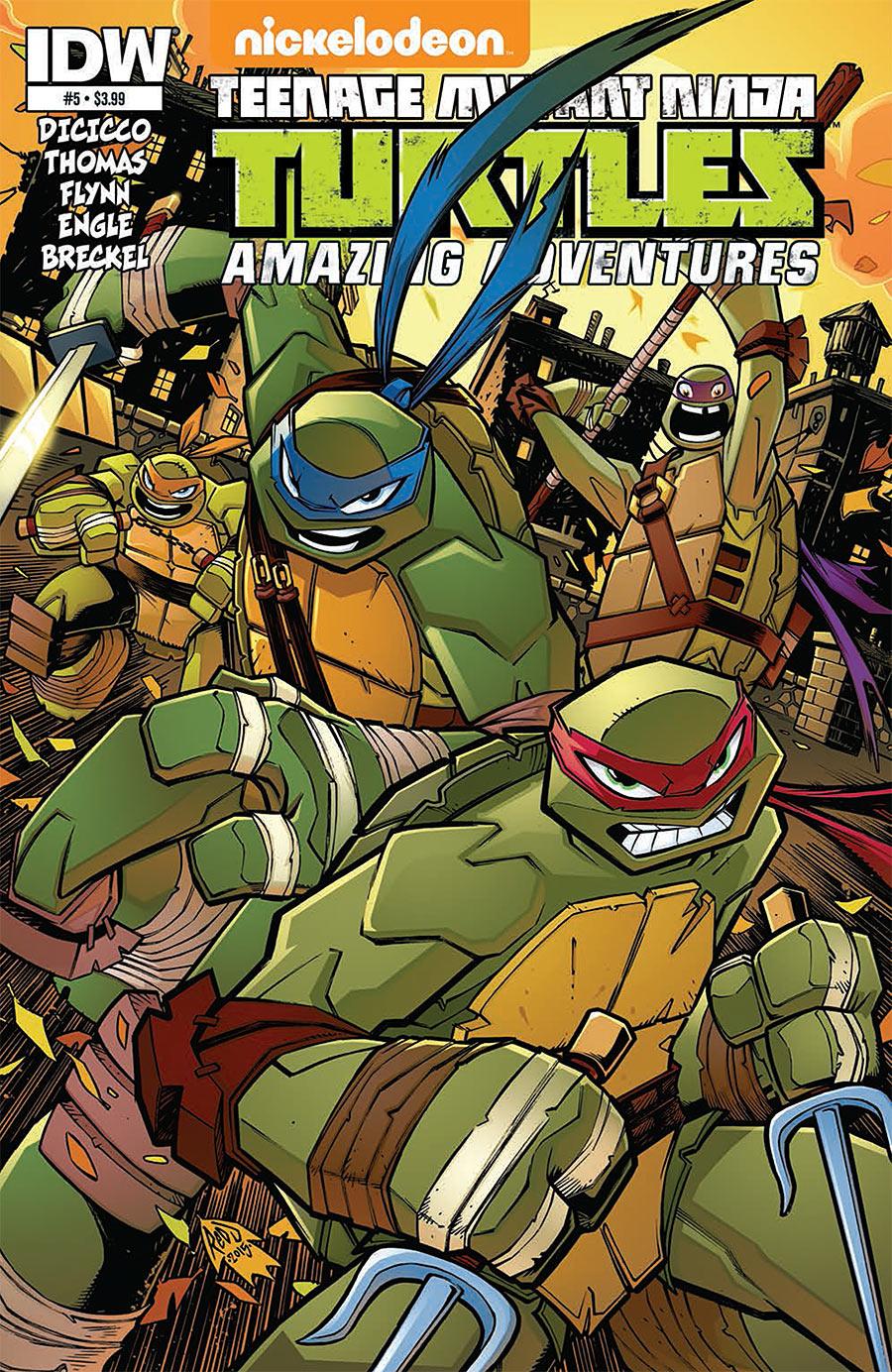Teenage Mutant Ninja Turtles: Amazing Adventures #5