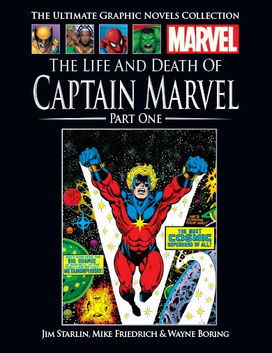 The Ultimate Graphic Novels Collection The Life and Death of Captain Marvel (Part 1)