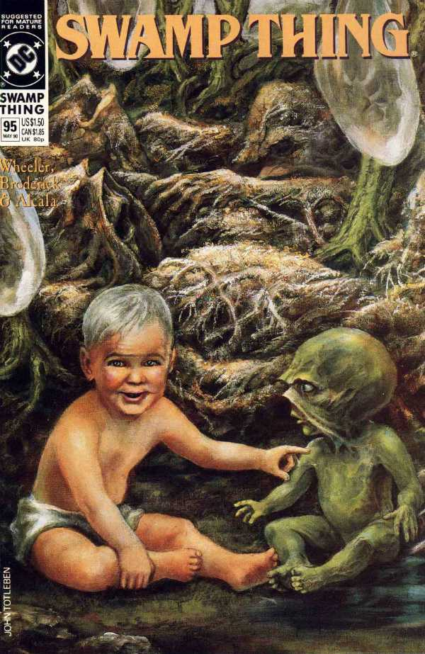 The Saga of the Swamp Thing #95