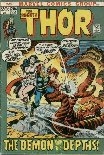 The Mighty Thor #204