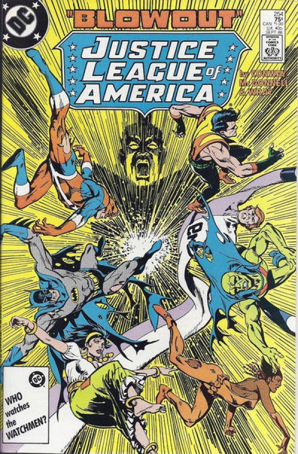 Justice League of America #254
