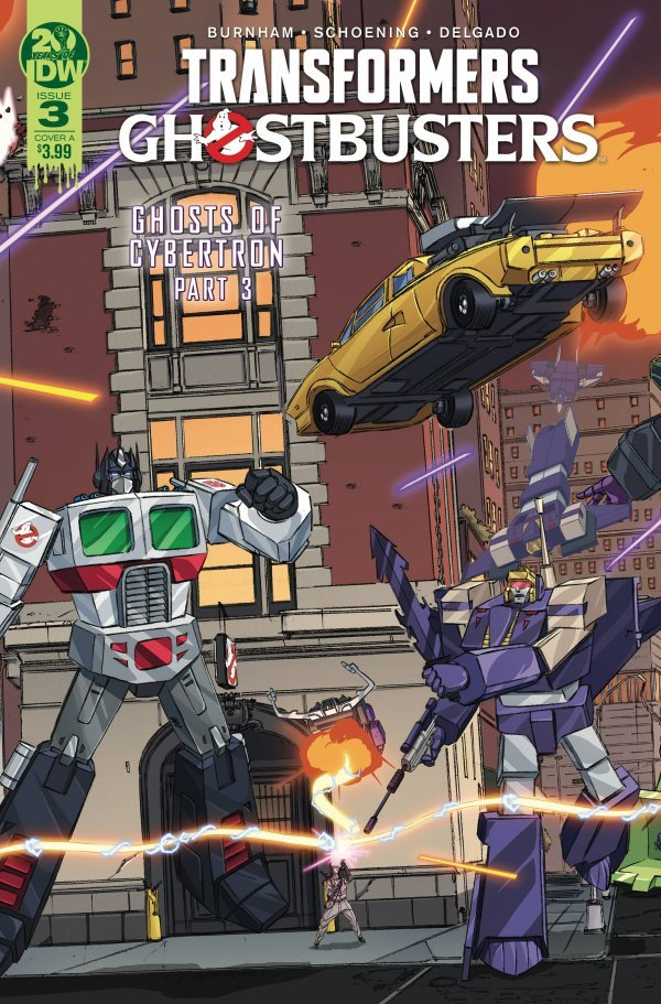 Transformers / Ghostbusters #3