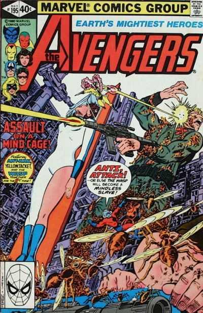 The Avengers #195